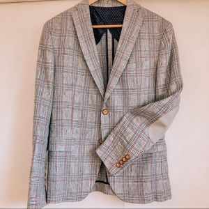 NWOT Zara Men's Plaid Blazer